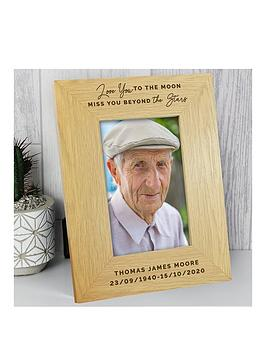 personalised-love-you-to-the-moon-memorial-wooden-photo-frame
