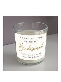 personalised-bridesmaid-candle