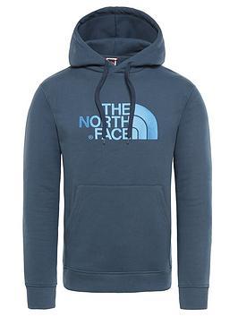 the-north-face-drew-peak-overhead-hoodie-blue