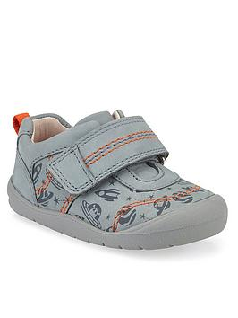 Start-Rite Start-Rite Boys Footprint Space Shoes - Grey Picture