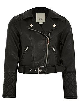 river-island-girls-faux-leather-biker-jacket--nbspblack