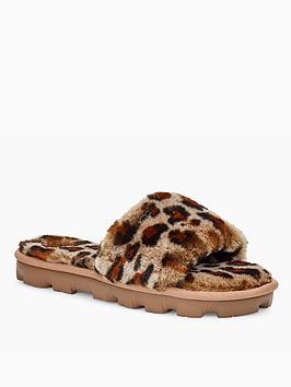 ugg-cozette-slipper-leopard
