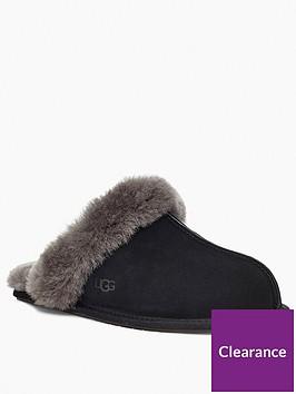 ugg-scuffette-ii-slipper-blackgrey