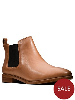 clarks-taylor-shine-chelsea-ankle-boot-brownnbsp