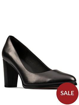 clarks-kaylin-cara-2-heeled-leathernbspcourt-shoe-black