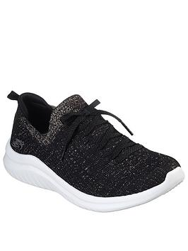 Skechers Skechers Ultra Flex 2.0 Trainers - Black/Gold Picture