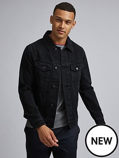 burton-menswear-london-denim-jacket-black