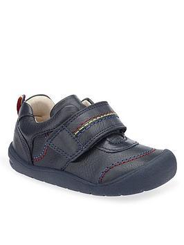 Start-Rite Start-Rite Boys First Zak Shoes - Navy Picture