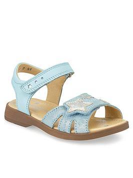 Start-Rite Start-Rite Girls Twinkle Sandals - Blue Picture