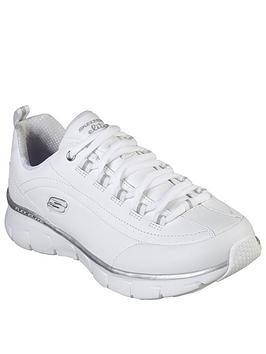 Skechers Skechers Synergy 3.0 Trainers - White/Silver Picture