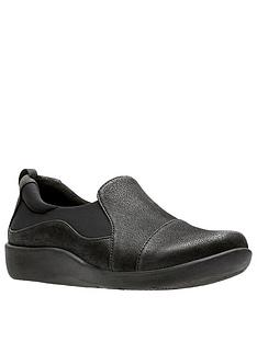 clarks-sillian-paz-flat-shoe-black