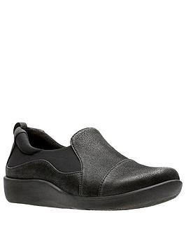 clarks-sillian-paz-flat-shoe-black
