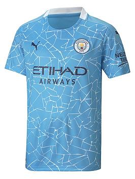 puma-puma-youth-manchester-city-home-short-sleeved-shirt