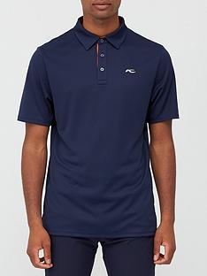 kjus-golf-silas-polo-blueorangenbsp