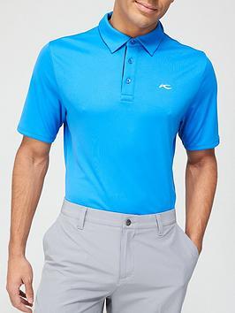 kjus-golf-silas-contrast-placket-logo-polo-blue