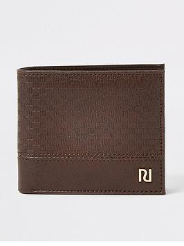 river-island-monogram-wallet-chocolate