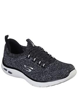 Skechers Skechers Empire D'Lux Trainers - Black/White Picture
