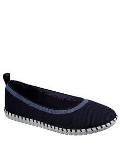 skechers-sepulveda-slim-ballerina-shoes-navy