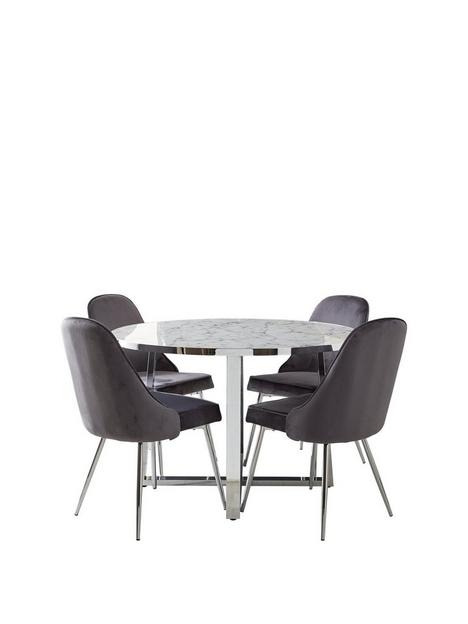 ivy-marble-effect-circle-dining-table-with-4-chairs
