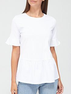 v-by-very-jersey-woven-mix-peplum-t-shirt-white