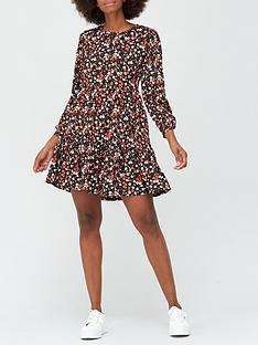 v-by-very-drop-hem-mini-dress-red-floral