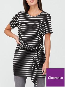 v-by-very-tie-waist-tunic-top-stripe