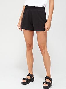 v-by-very-seam-detail-sweat-shorts-black