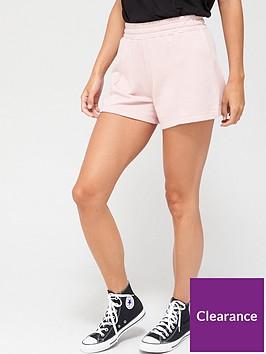 v-by-very-seam-detail-sweat-shorts-blush