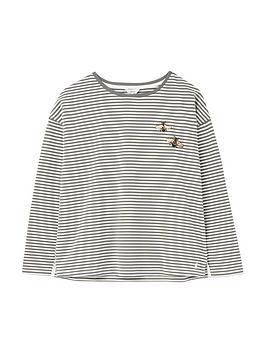joules-marina-embellishednbspdropped-shoulder-jersey-top-khaki