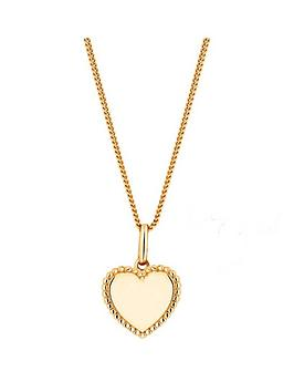 simply-silver-gold-plated-sterling-silver-personalised-engravable-beaded-edge-heart-pendant