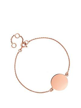 Simply Silver Simply Silver Simply Silver Rose Gold Plated Sterling Silver  ... Picture
