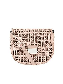 Accessorize Accessorize Punch Out Cross Body Bag - Nude Picture
