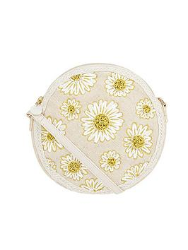 Accessorize   Daisy Cross Body Bag - Natural