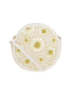 Accessorize   Daisy Cross Body Bag - Natural