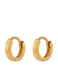 accessorize-plain-mini-huggie-hoop-gold
