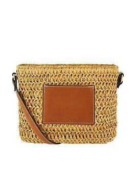 Accessorize Accessorize Julia Crossbody Bag - Natural Picture