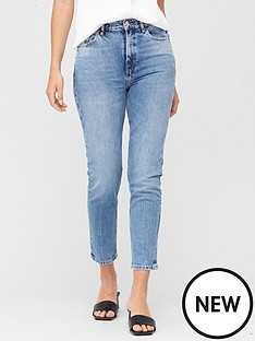 v-by-very-premium-high-waist-slim-leg-jeans-mid-wash