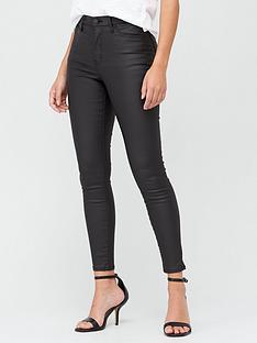 v-by-very-premium-high-waist-coated-skinny-jean-black