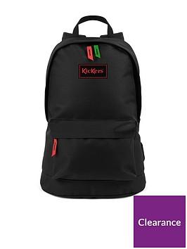 kickers-kids-canvas-backpack-black
