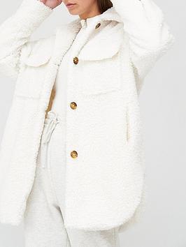 missguided-missguided-longline-fleece-shacket-ecru