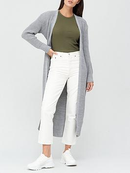 missguided-belted-maxi-cardigan-grey