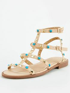 missguided-missguided-bejewelled-gladiator-blue-studnbspsandalsnbsp--taupe
