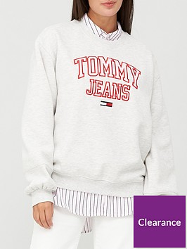 tommy-jeans-collegiate-logo-crew-neck-sweat-top-grey