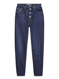tommy-jeans-mom-high-waisted-jeans-blue