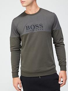 boss-bodywear-tracksuit-sweatshirt-khaki