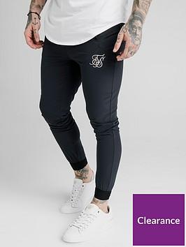sik-silk-agility-poly-rib-track-pants-navy