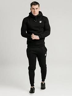 sik-silk-muscle-fit-overhead-hoodie-black
