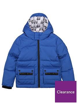 boss-boys-padded-hooded-coat-blue