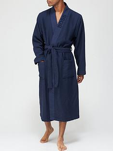 boss-bodywear-waffle-bathrobe-navynbsp