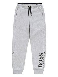 boss-boys-classic-logo-cuffed-jogger-grey